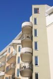 Building in Stockholm. Modern apartment building in Stockholm, Sweden Royalty Free Stock Photos