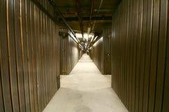 Building Storage Lockers. Royalty Free Stock Image