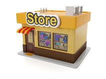 Building store. Stock Photography