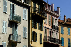 Building in the street of old Cannes, Stock Photo