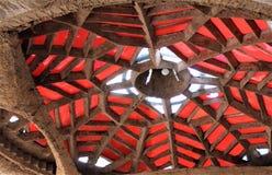 Cosanti Paolo Soleri Studios, Paradise Valley Scottsdale Arizona, United States. Building structure at a Cosanti, Paolo Soleri Studios located in Paradise Valley royalty free stock photography