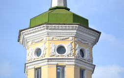 The building in the style of Stalin in Kolpino. Royalty Free Stock Photography