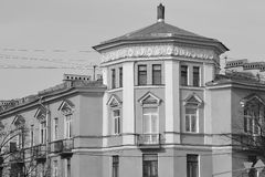 The building in the style of Stalin in Kolpino. Stock Photography