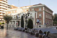 Building of the subdelegation of the Government in Castellón Royalty Free Stock Images