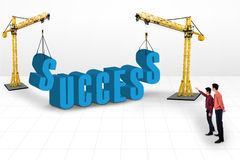 Building success concept Stock Photos