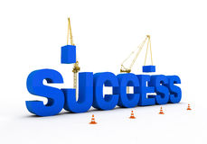 Building Success Royalty Free Stock Images