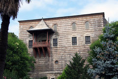 A building in Sultan Ahmet Square. The Hippodrome of Constantinople was a circus that was the sporting and social centre of Constantinople, capital of the Royalty Free Stock Photography