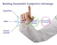 Building Sustainable Competitive Advantage Stock Photos