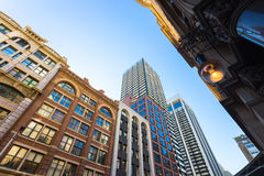 Building in Sydney. Sydney, Australia - February 22, 2017: Beautiful Building and shopping area in Sydney stock photo