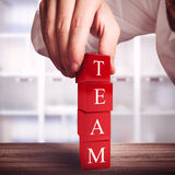 Building a team Stock Photography