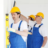 Building teamwork Royalty Free Stock Image