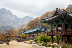 The building of temple in South korea. Stock Image