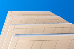 Building terraces hotel detail Stock Photo