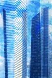 Building texture Stock Image
