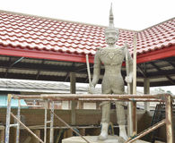 Building Thai guard statue Stock Images