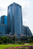 The building of Thai Military Bank Stock Photo