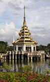 Building in Thai style royalty free stock photo