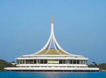 Building in Thailand Royalty Free Stock Image