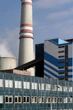 The building thermal power plants Royalty Free Stock Photos