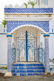 Building with tiles Oman Royalty Free Stock Photo