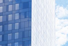 Building with tinted windows. Building with tint ed windows Royalty Free Stock Photo