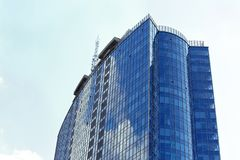 Building with tinted windows. Building with tint ed windows Royalty Free Stock Photos