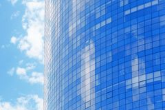 Building with tinted windows. Building with tint ed windows Stock Image