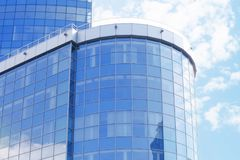 Building with tinted windows. Building with tint ed windows Royalty Free Stock Image