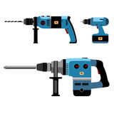 Building Tools Electric Royalty Free Stock Photography
