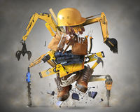 Building tools and equipment Royalty Free Stock Photo