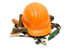 Building tools isolated over white Stock Photography