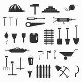 Building tools symbols vector illustration Stock Photo