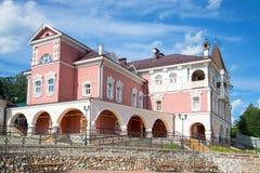 The building of the tourist complex Myshkin house, sunny day in july. Myshkin, Yaroslavl region Stock Photography