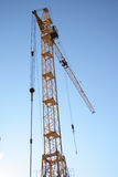 Building tower crane Royalty Free Stock Images