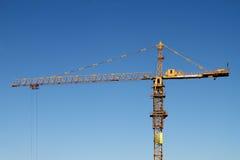 The building tower crane Stock Photos