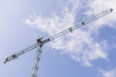 Building tower crane Stock Photography