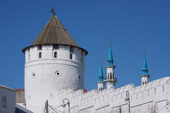 Building is a tower, Kremlin, city Kasan Royalty Free Stock Photo