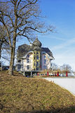 The building towering over Gurten park, Bern Stock Photography