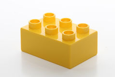 Building toy brick Stock Photography