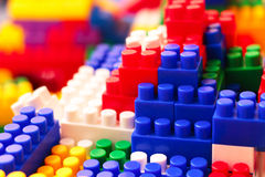 Building toy bricks Stock Photography