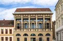 Building in tradidional European archirecture style in Potsdam Royalty Free Stock Photos