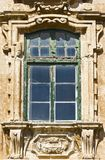 Maltese window in Valletta. Building with traditional maltese window in historical part of Valletta Royalty Free Stock Images