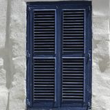 Simple window on Malta. Building with traditional maltese window in historical part of Valletta Royalty Free Stock Photography