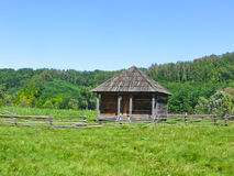 Building in traditional ukrainian style Royalty Free Stock Photos