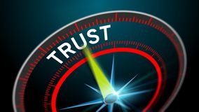 Building trust as business concept Stock Photography