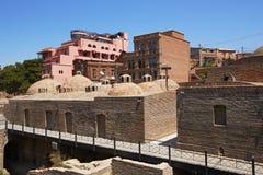 Building of turkish bath Royalty Free Stock Photo