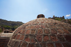 Building of turkish bath Stock Photo