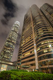 Building Two Exchange Square in Hong Kong Stock Photography