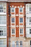 Building. Two historic building facades in Spain Stock Images