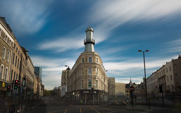 Building in UK. Modern building in uk with boom sky Stock Images